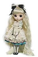 Колекційна лялька Пуллип Романтична Аліса в блакитному з аксесуарами, підставкою, 31 см - Pullip Romantic Alice, фото 1