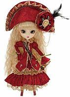 Кукла Коллекционная Пуллип Веритас в насыщенном малиновом с аксессуарами и подставкой, 31см - Pullip Veritas, фото 1