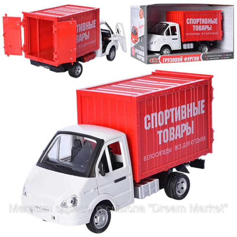 Дитяча Іграшка для хлопчиків Інерційна Машинка Автопарк Спортивні товари, звук. і світло. ефекти арт. 9077С