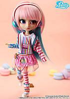 Кукла Коллекционная шарнирная Пуллип  Акеми в модных наушниках, с аксессуарами и подставкой, 31 см - Pullip