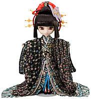 Кукла Коллекционная шарнирная Пуллип Кимоно: наряд в романтичном восточном стиле, подставка 31см - Pullip