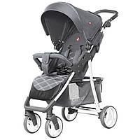 *Детская прогулочная коляска (+корзина, подстаканник, чехол, дождевик), ТМ Carrello, цвет METAL GREY арт. 8502
