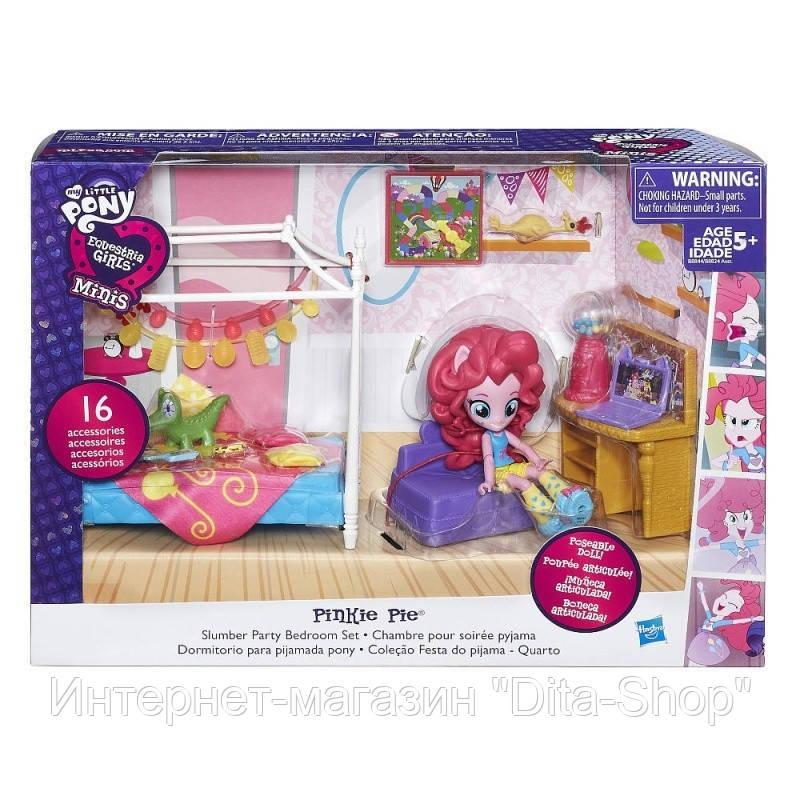 Купить Игровые фигурки, роботы трансформеры, Игровой набор Урок Рисования с Пинки Пай, девочки из Эквестрии - Pinkie Pie Splashy Art Class, My Little Pony, Hasbro