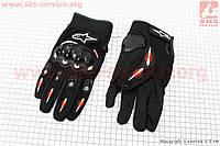 Перчатки мотоциклетные XL-черные