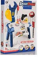 Детский Набор инструментов для мальчиков Стойка с дрелью со звуковыми эффектами, 51х29х71 см, синий арт. 103-2