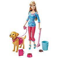Кукольный набор с собакой Кукла Барби-тренер с питомцем щенком Potty Training Taffy Barbie Doll and Pet
