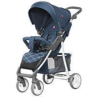 *Детская прогулочная коляска (+корзина, подстаканник, чехол, дождевик), ТМ Carrello, цвет NAVY BLUE арт. 8502/1