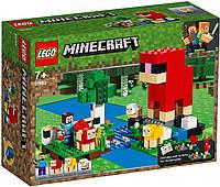 Lego Minecraft Шерстяная ферма 21153