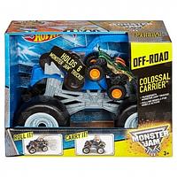 Машинка Hot Wheels Monster Jam Colossal Carrier Vehicle