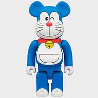 Дизайнерская Игрушка Беарбрик Кавс Bearbrick Kaws Фигурка Doraemon Bearbrick 400 % (высота около 28 см)