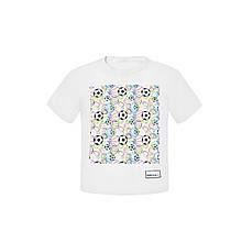 Дитяча футболка для хлопчика BARBARAS Польща XB134 Білий