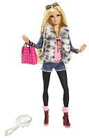 Игровая Кукла Барби стиль - Barbie Style Doll - Faux Fur Fun