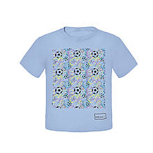 Дитяча футболка для хлопчика BARBARAS Польща XB134 Блакитний