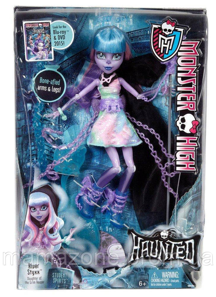 Кукла Монстер Хай Ривер Стикс Призрачные River Styxx Haunted, Monster High  - купить со скидкой