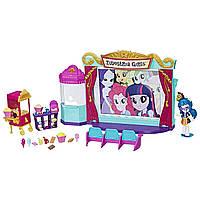 Кукла Джунипер Монтаж минис и кинотеатр - Equestria Girls Minis Juniper Montag Movie Theatre Playset