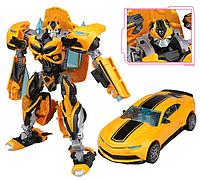 Игрушка для мальчиков Робот-трансформер Бамблби (Трансформеры-4) 18 см - Bumblebee, TF4, Deformation, KuBianBao