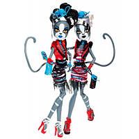 Куклы Монстер Хай Мелодия и Пурсефона Зомби Шейк Monster High Meowlody and Purrsephone Zombie Shake