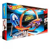 Трек Хот Вилс безумный форсаж с 5 машинками моторизированный Hot Wheels Power Shift Raceway