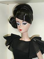 Коллекционная Кукла Барби Силкстоун Маленькое чёрное платье - Classic Black Dress Brunette Silkstone Barbie