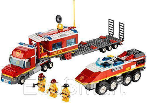 лего пожарный транспортер