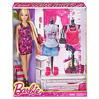 Игровой Набор для девочек Барби Модный Гардероб стильные наряды, обувь и аксессуары 2013 года - Barbie PlaySet