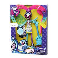 Кукла Винил Скретч девочки Эквестрии с аксессуарами для рисования - My Little Pony DJ Pon-3 Rainbow Rocks