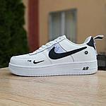 Жіночі кросівки Nike Air Force 1 LV8 (біло-чорні) 20036, фото 2