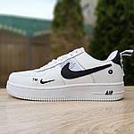 Жіночі кросівки Nike Air Force 1 LV8 (біло-чорні) 20036, фото 3