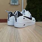 Жіночі кросівки Nike Air Force 1 LV8 (біло-чорні) 20036, фото 5