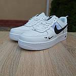 Женские кроссовки Nike Air Force 1 LV8 (бело-черные) 20036, фото 9