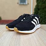 Мужские кроссовки Adidas Iniki (черно/белые) 10045, фото 5