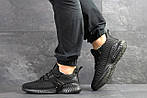 Мужские кроссовки Adidas (черные) 9172, фото 3