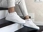Жіночі шкіряні кросівки Force (білі) 9180, фото 4