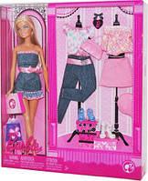 Игровой Набор для девочек Барби Модный Гардероб стильные наряды, обувь и аксессуары 2008 года - Barbie PlaySet