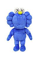 Игровая Плюшевая синяя кукла игрушка Кавс Kaws - Улица Сезам Cookie Monster