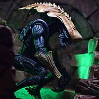 Игровая Коллекционная Фигурка Чужой против Хищника Alien vs Predator Chrysalis Alien