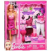 Коллекционная Игровая Кукла Барби Barbie 2010 года с модным гардеробом и аксессуарами