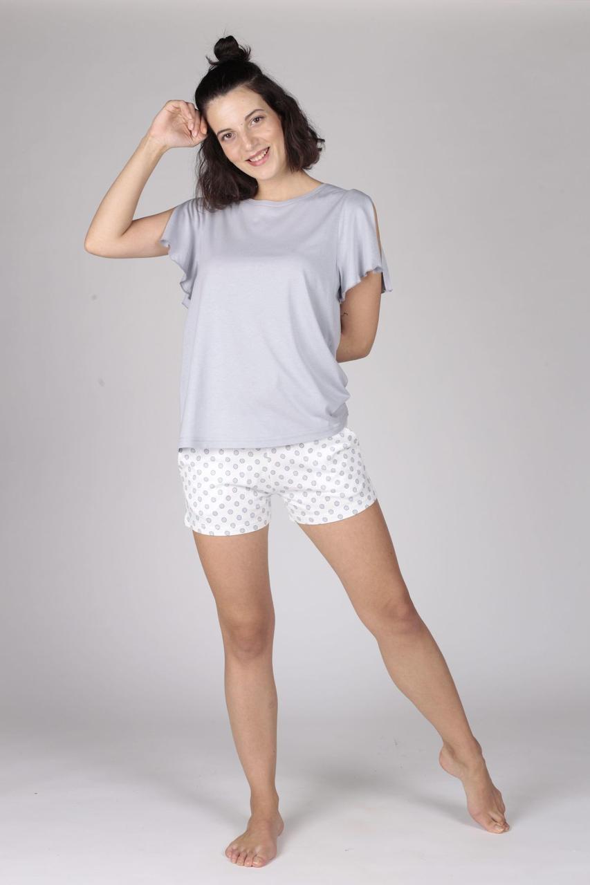Жіноча піжама із футболкою та короткими шортами HAYS 29525/504
