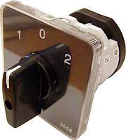 Пакетный кулачковый переключатель ПКП Е9 25А/2.832 (1-0-2 2 полюса)