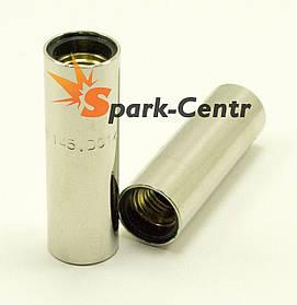 Сопло газовое цилиндрическое Ø18мм х Ø22мм х 69мм для горелок RF GRIP 15 / 25 Binzel Abicor (Германия)