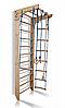 Дитяча шведська спортивна стінка, спортивний комплекс куточок, турнік, кільця, сходи, 240х80 см K2-240