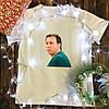 Мужская футболка с принтом - Костя Воронин