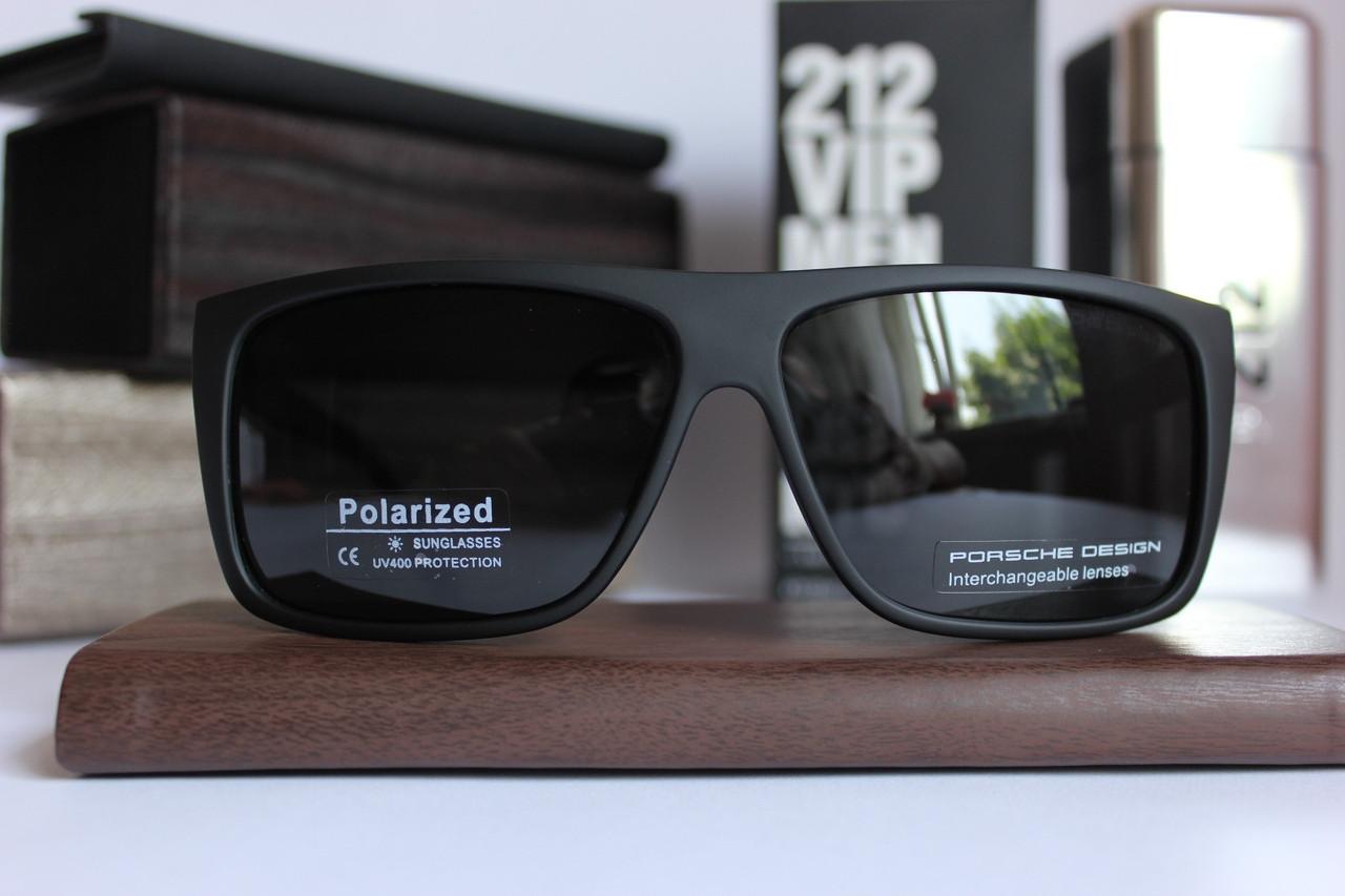 Мужские брендовые солнцезащитные очки Porsche Design (поляризированные)
