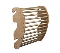 Тренажер для спины на шведскую стенку деревянный