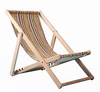Деревянный Пляжный Шезлонг-лежак для дачи, дома, коттеджа, улицы из натурального дерева, бук, 110х64 см