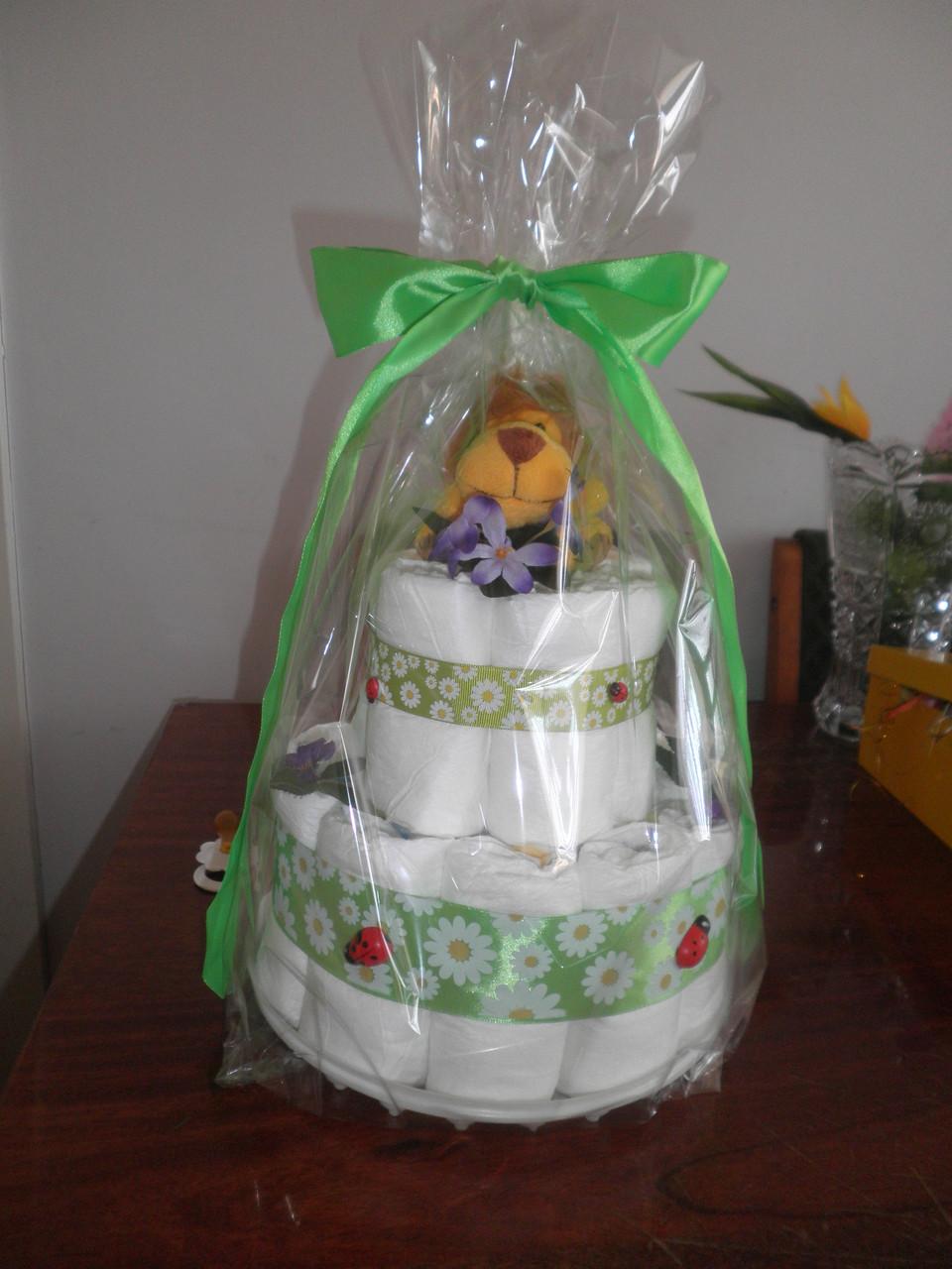 Торт из памперсов - Интернет-магазин Ритик  в Сумах