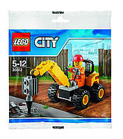 LEGO CITY 30312 Demolition Driller Бурильщик