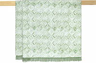Плед Arya Naomi Евро 200*220 см хлопковый зеленый арт.TR1006338