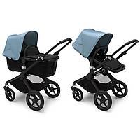Дитяча коляска 2в1 Bugaboo Fox 2 / Black + Vapor Blue
