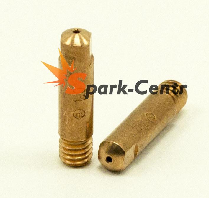 Наконечник токосъемный медный(E-Cu) Ø1,0 мм М6х25 для горелок RF GRIP 15 Binzel Abicor (Германия)